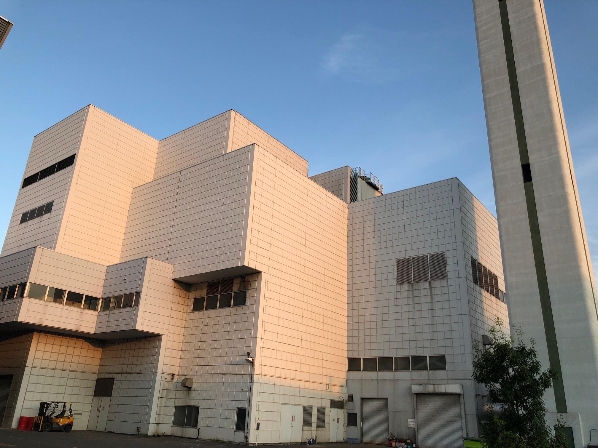 延命化対策工事が行われている蕨戸田衛生センターの焼却炉