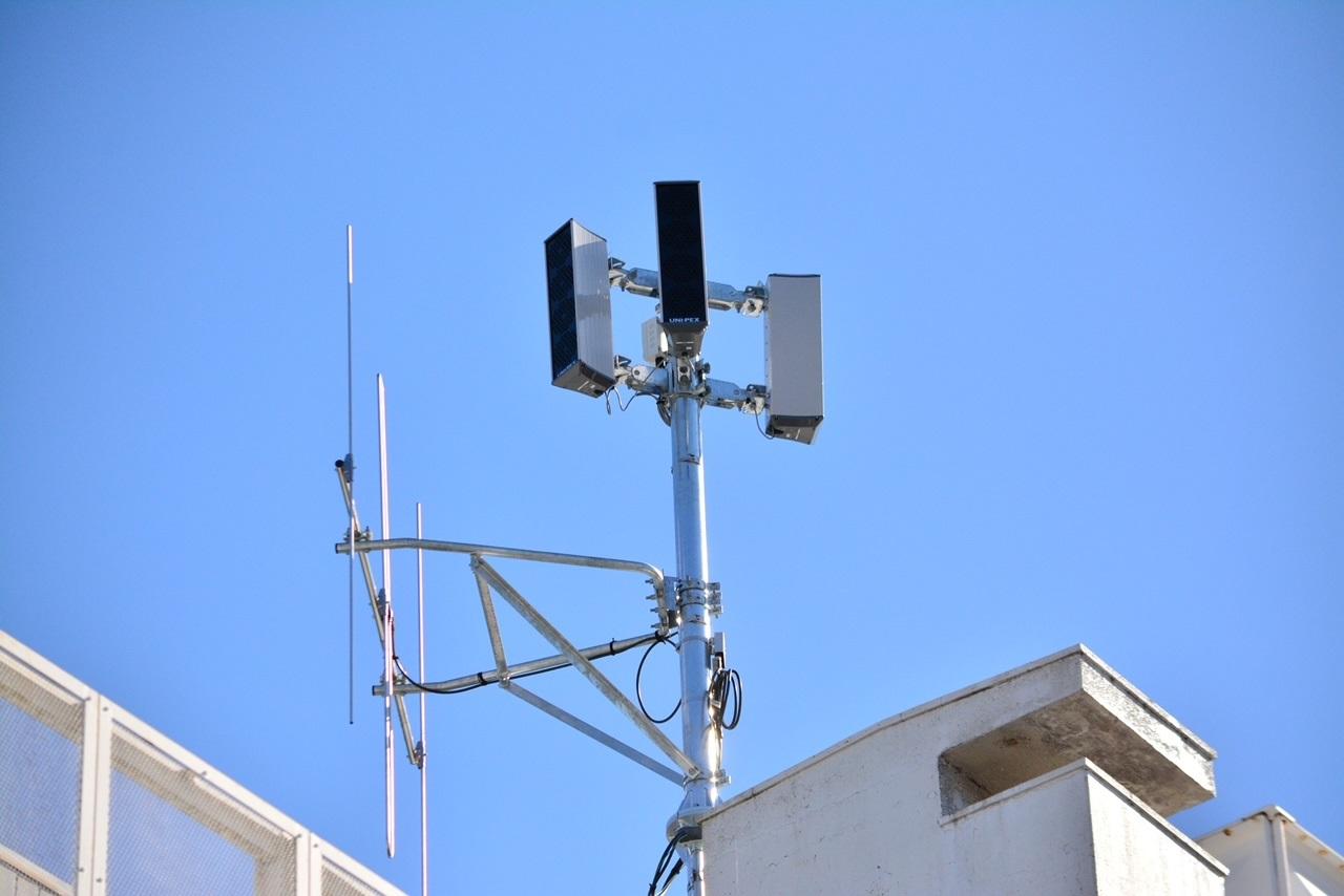 デジタル化された防災行政無線