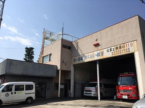 現在地で建替える消防署塚越分署